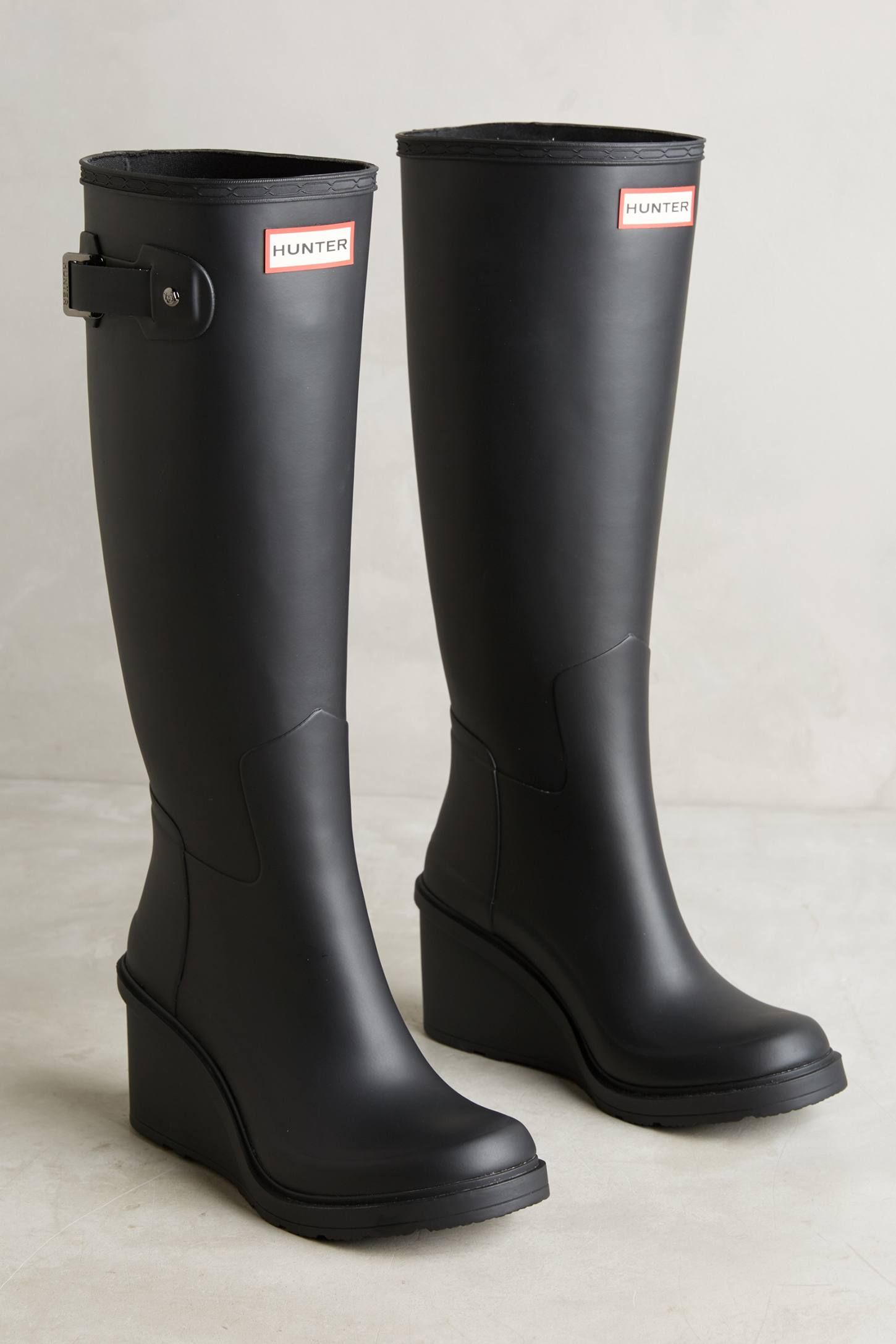 wholesale price separation shoes ever popular Hunter Tall Wedge Rain Boots. I have these!! and ❤️ them ...