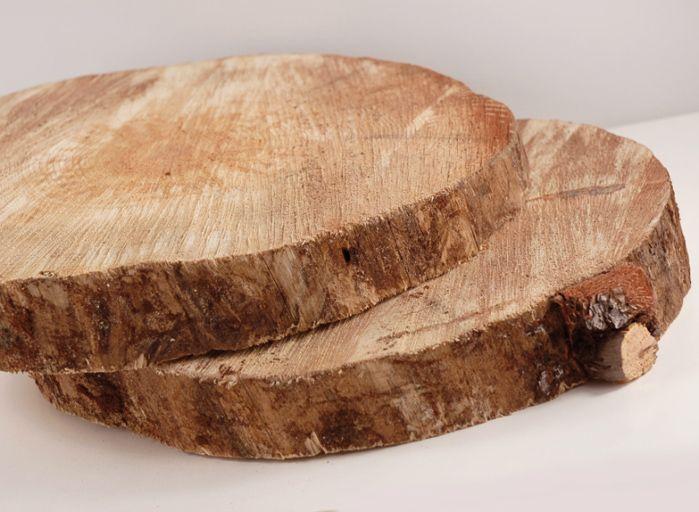 wood tree slabs