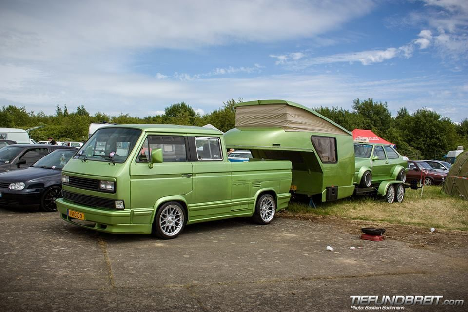 vw t3 doka mit rennanh nger tuning cars pinterest vw. Black Bedroom Furniture Sets. Home Design Ideas