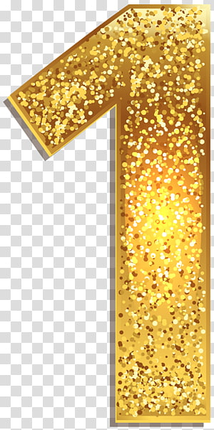 Gold Glitter 1 Cutout Decor Number Gold Number One Transparent Background Png Clipart Convite De Aniversario Topo De Bolo Casamento