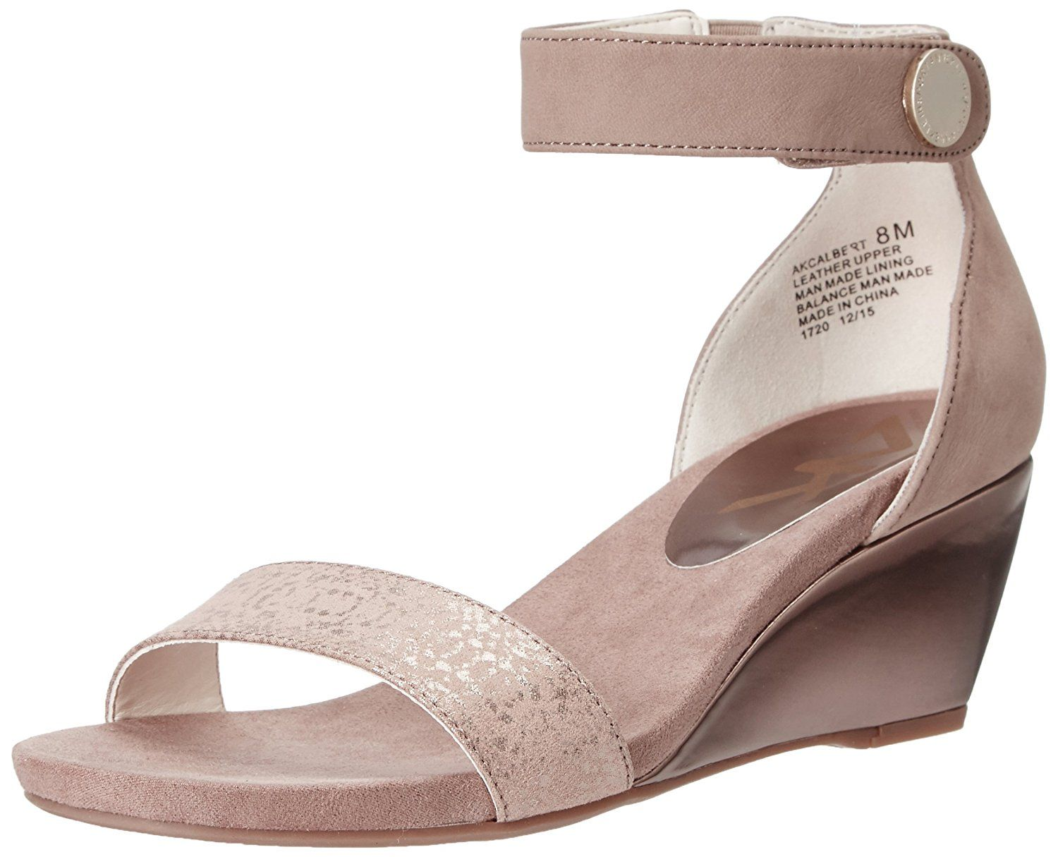 15c0a19306 AK Anne Klein Sport Women's Calbert Wedge Sandal * You can get more details  by clicking on the image. #womenshoe
