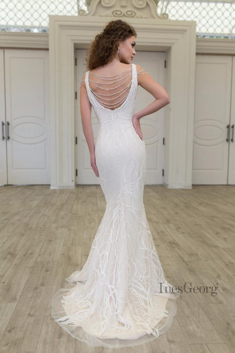 Wedding dress DIMITRA in Charmé Gaby Bridal Gown boutique Tampa FL ...