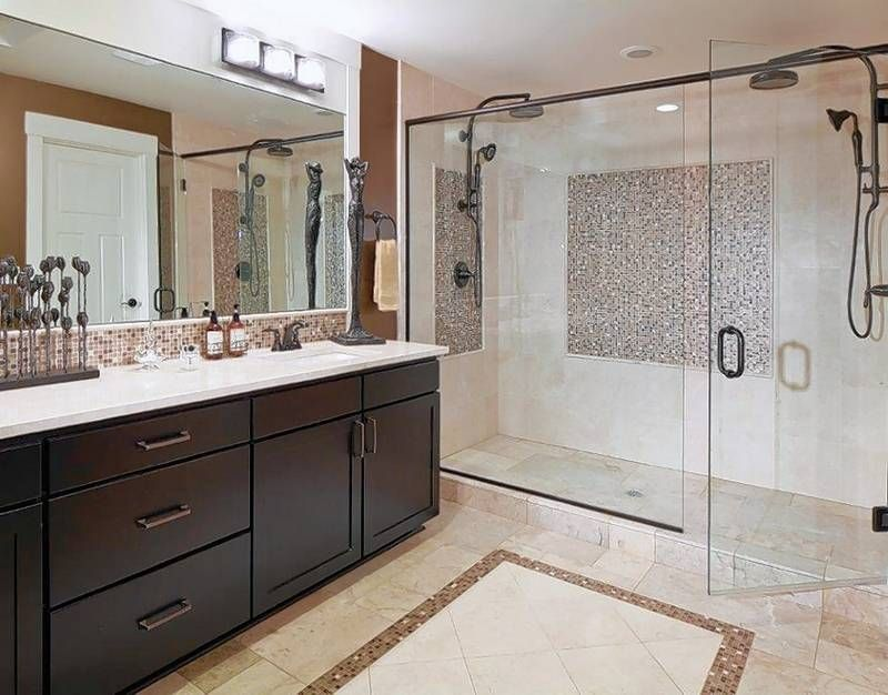 image result for master bathroom shower only bathroom pinterest rh pinterest com Master Bathroom Layout Floor Plans Master Bathroom Floor Plans with Private Toilet
