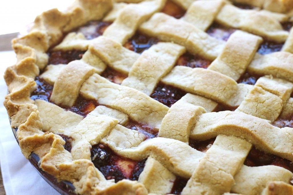 Peach and Blackberry Pie with Gluten Free Crust | Recipe ...