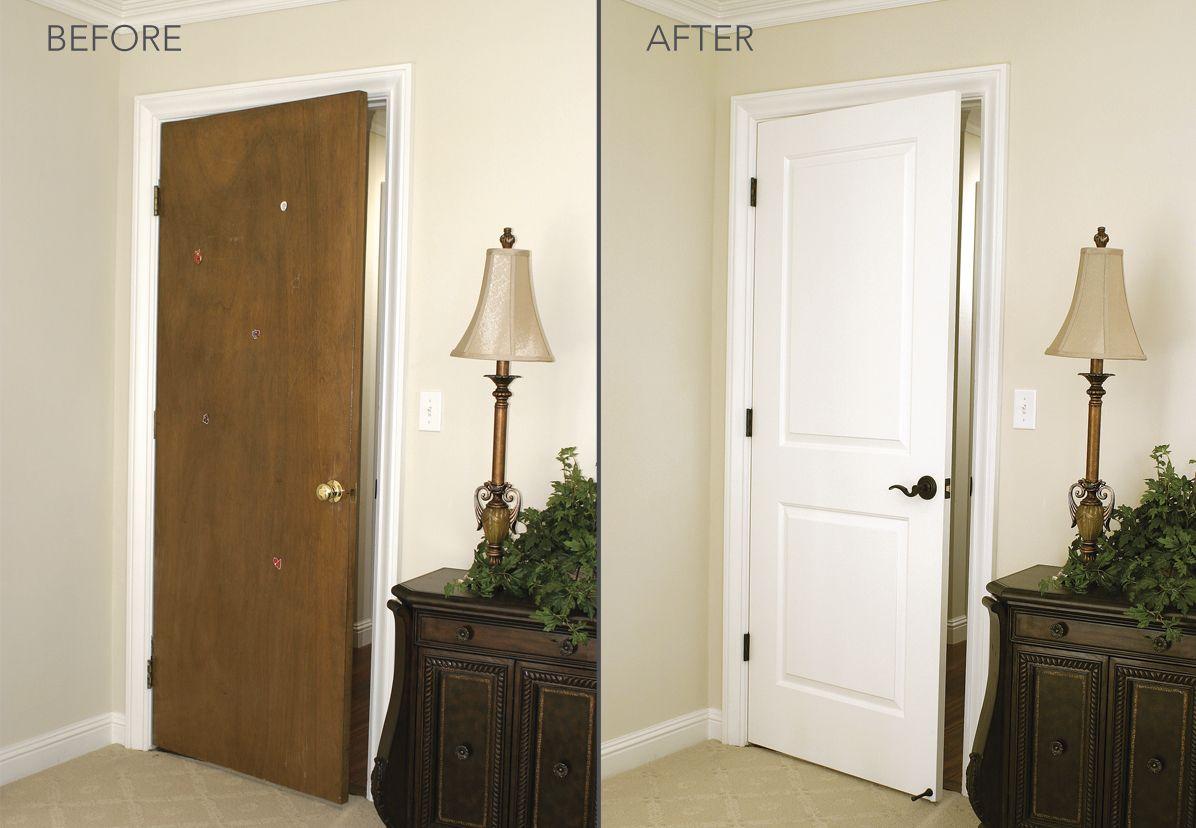 Bedroom Door Replacement By HomeStory