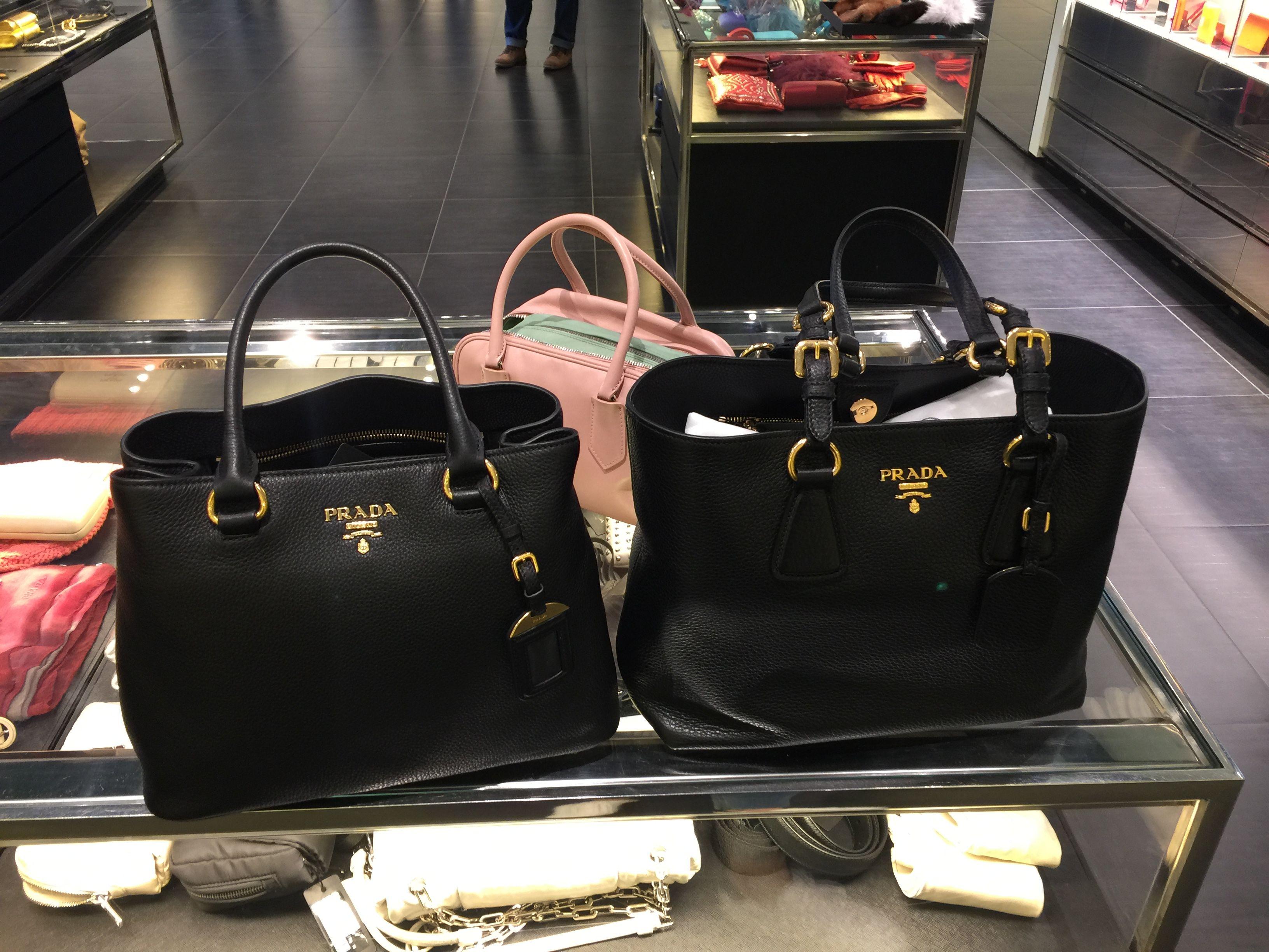 943ba7df9610 Prada bag New available on eBay $1095 (left one) & $1085 Free complimentary  shipping ( 1BG043 & 1BA058)
