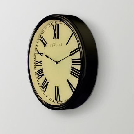 Nextime Houdini Wall Clock Add Oodles Of Style To Your Home With An Exciting Range Of Designer Furniture Furnishings Decor Items And Wall Clock Clock Wall