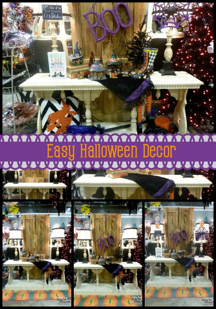 Halloween Decorations- Witchy Halloween Decor by Show Me Decorating - how to decorate your car for halloween