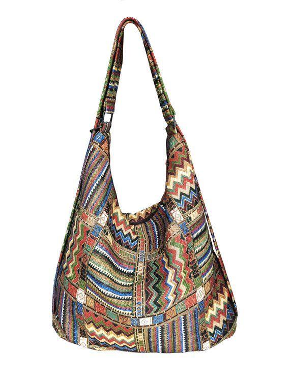 Convertible handbag backpack gobelin shoulder hobo purse travel urban  woman s rucksack eco vegan hip cc0d4c7fa5ef6