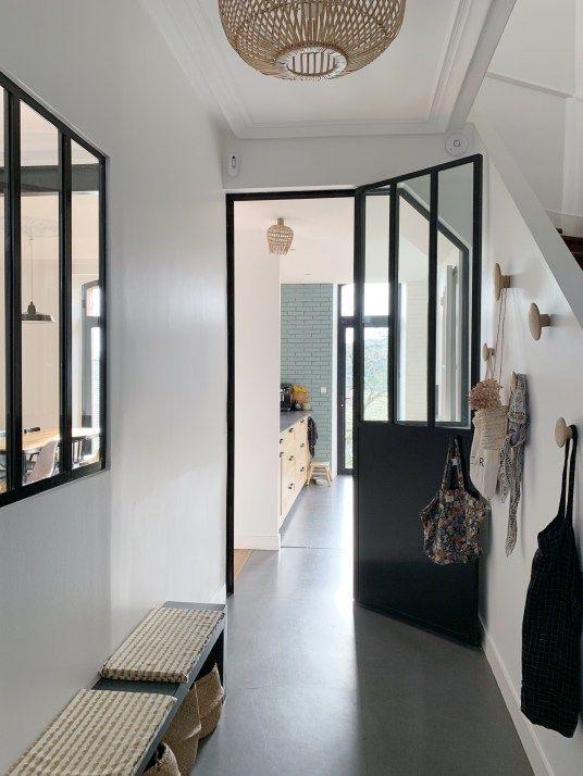 Amenager Son Entree En 2020 Maison Maison Nantes Appartement Blanc