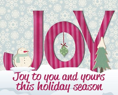 A little #mondaymotivation for you~ spread joy all around with this #seasonsgreetings. #HolidayJoy #MerryChristmas #free #cards #greetings #wishes.