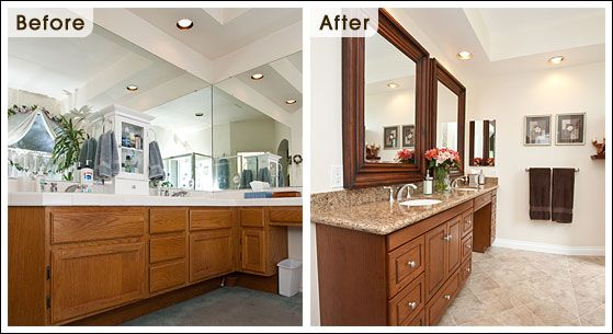 Master Bathroom Before And After Rukinet – Bathroom Remodel Ideas Before and After