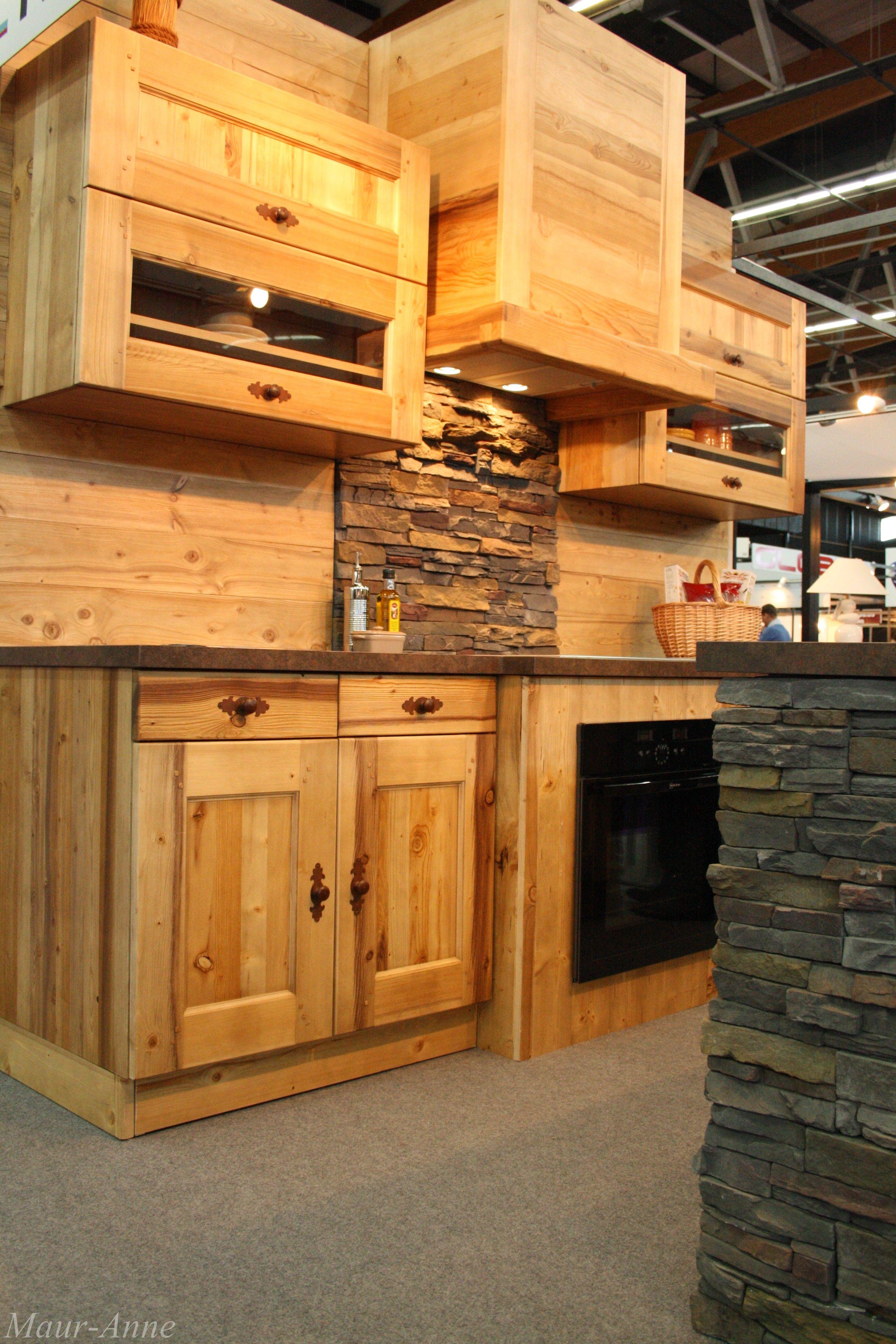 Wood #Kitchen Salon de l\'Habitat de Clermont-Ferrand 21 > 24 mars ...