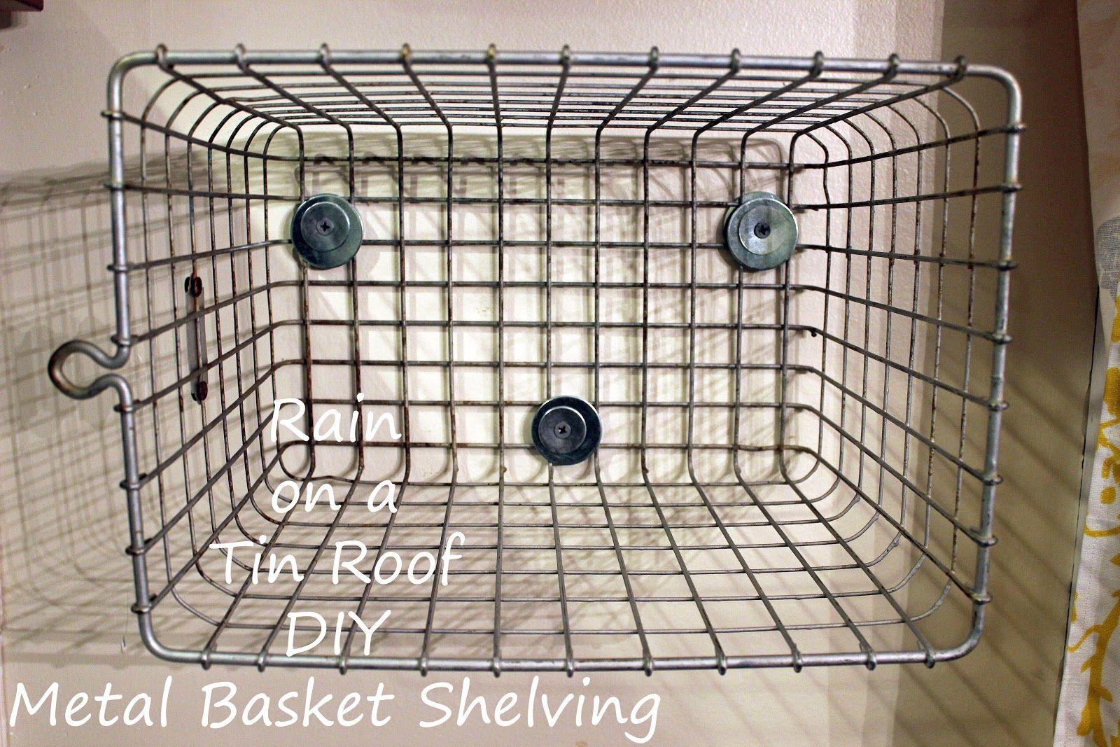 Mounting+Locker+Baskets+to+the+Wall.JPG 1600×1067 pixels