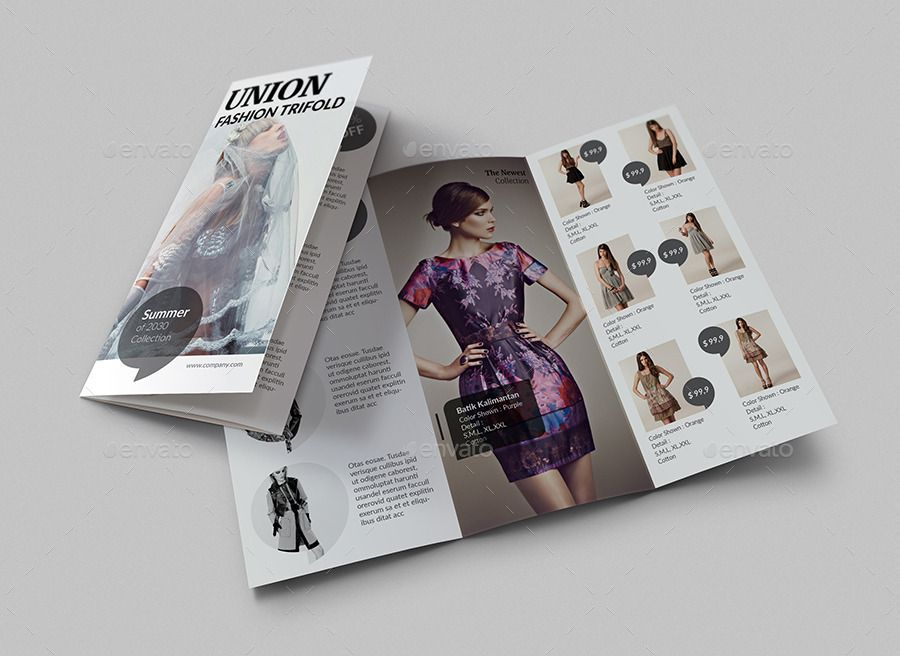 A Fashion Catalog  Brochure  Booklet Layout Design Inspiration