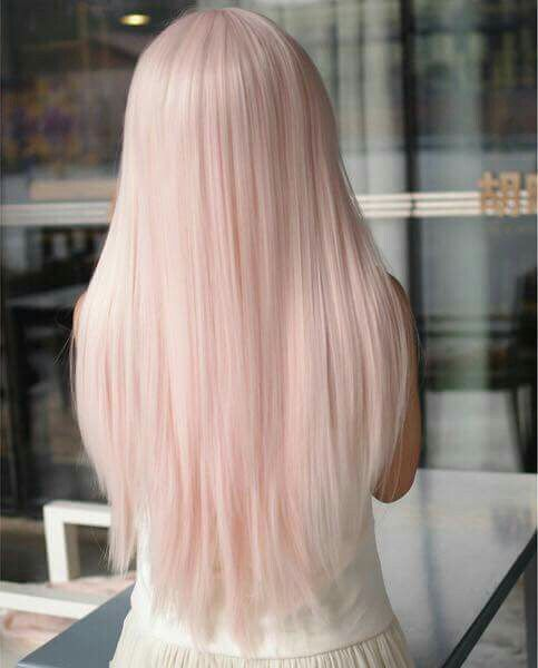 Pinky Blonde Long Hair Love With Images Hair Color Pastel