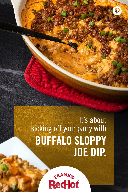 Buffalo Sloppy Joe Dip Recipe In 2019 The Pinterest