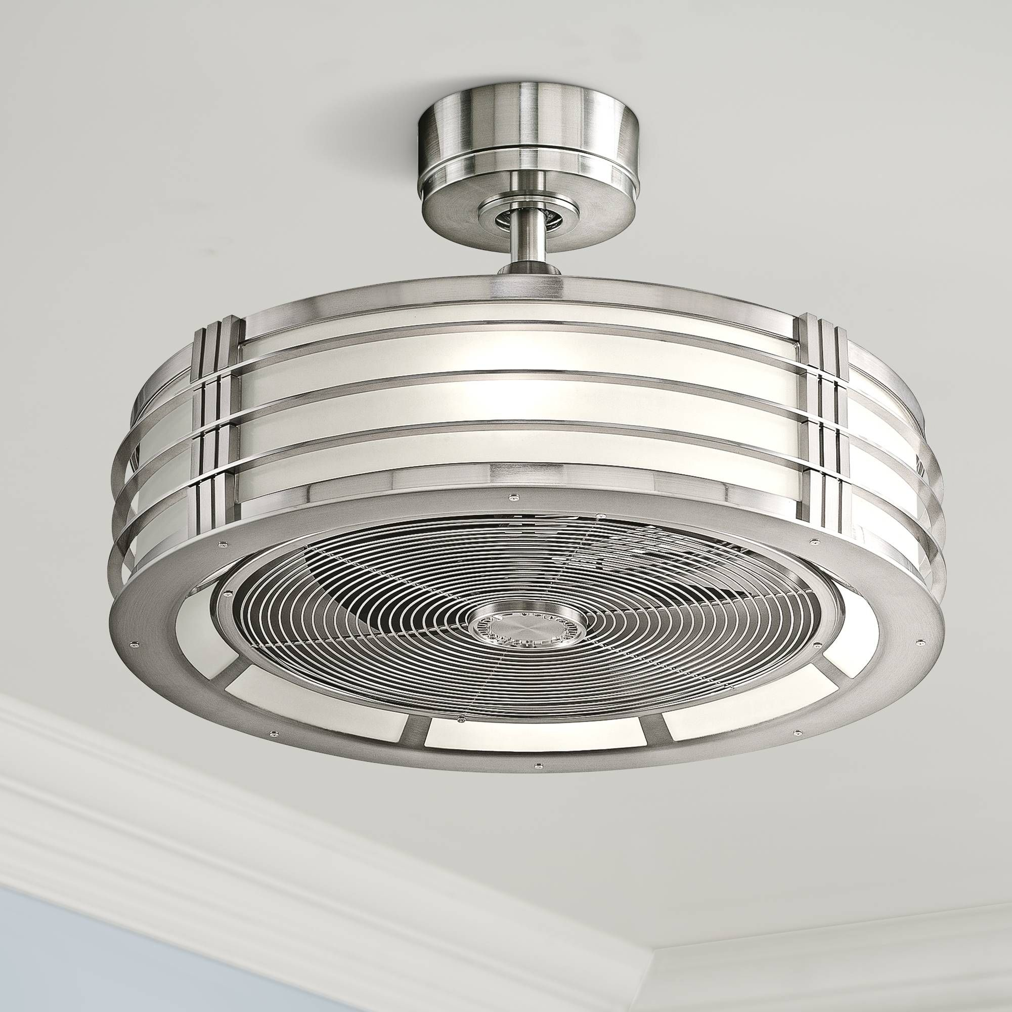 23 fanimation beckwith brushed nickel ceiling fan 5j386 lamps 23 fanimation beckwith brushed nickel ceiling fan 5j386 lamps plus aloadofball Image collections
