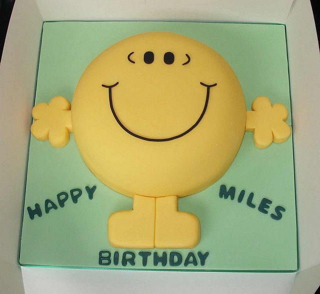 Mr Happy Cake Girl Birthday Cupcakes Cake Party And Girl Birthday - Mr tickle birthday cake