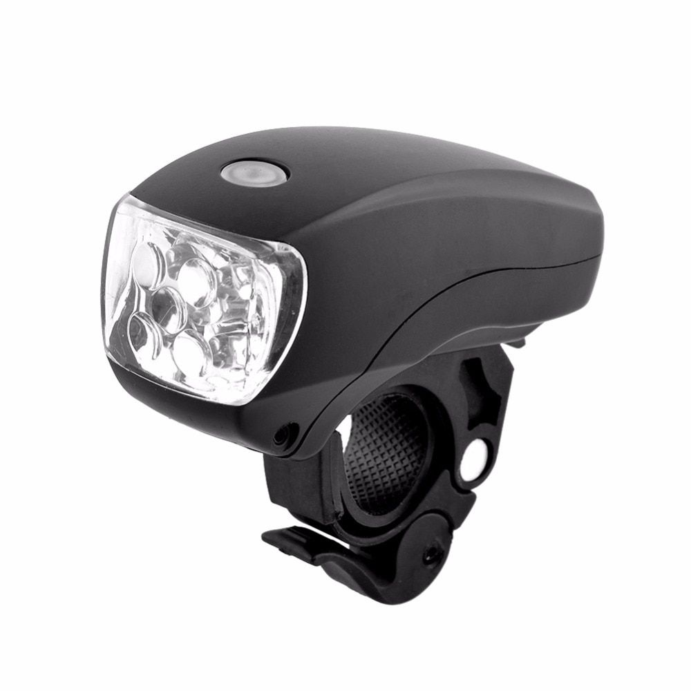 3 X Waterproof 5 LED Lamp Bike Bicycle Front Head Light+Rear Safety Flashlight