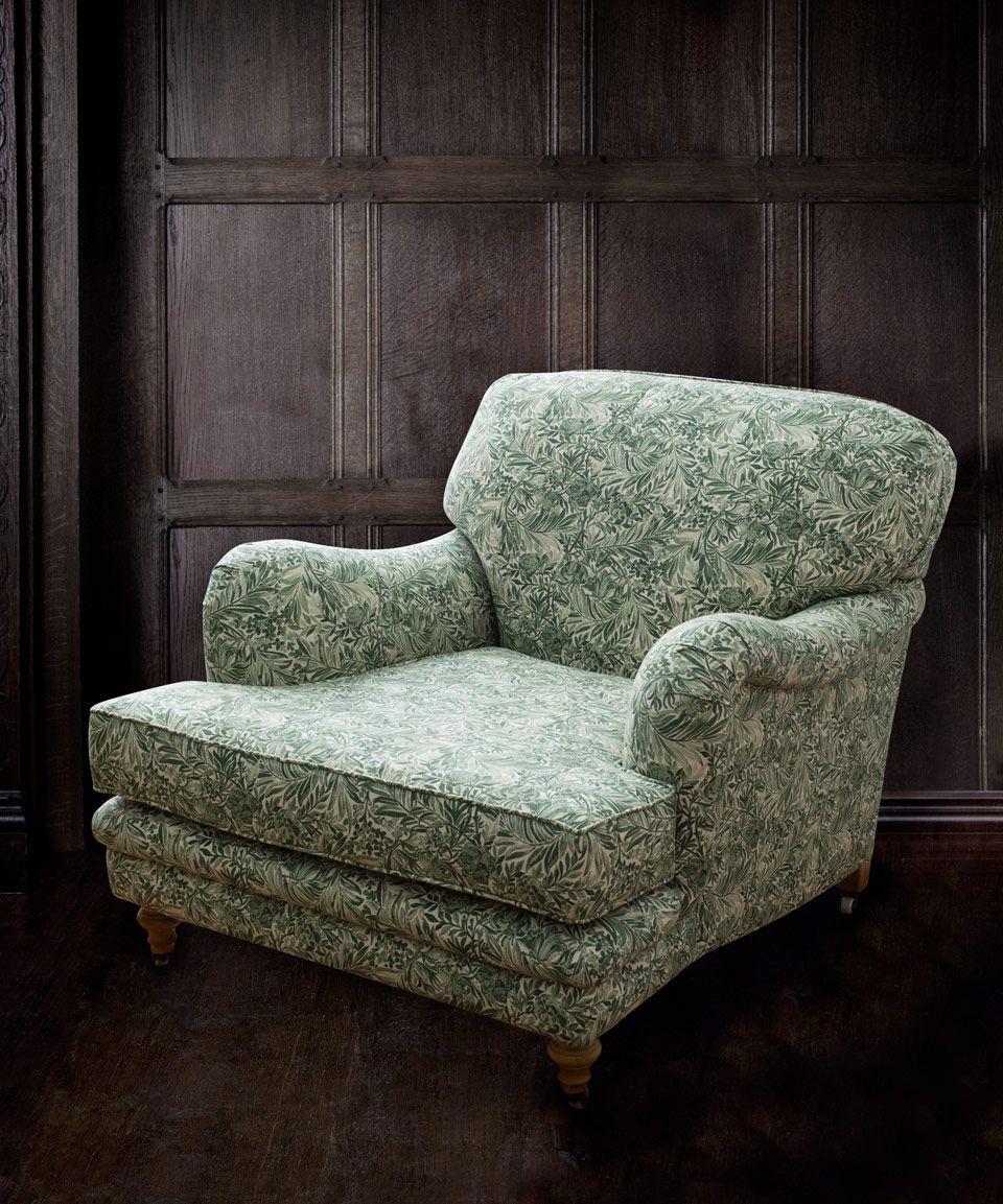 Liberty Furnishing Fabrics Green Gauze Wallace Secret