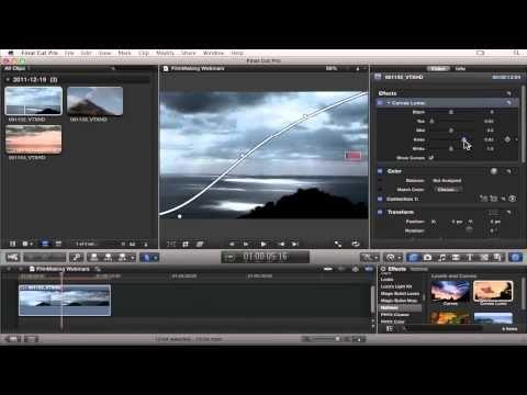 Final Cut Pro X Advanced Color Grading Techniques - YouTube