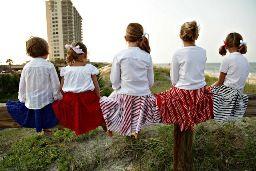 Tutorial: Coastal Twirly Skirt · Sewing   CraftGossip.com