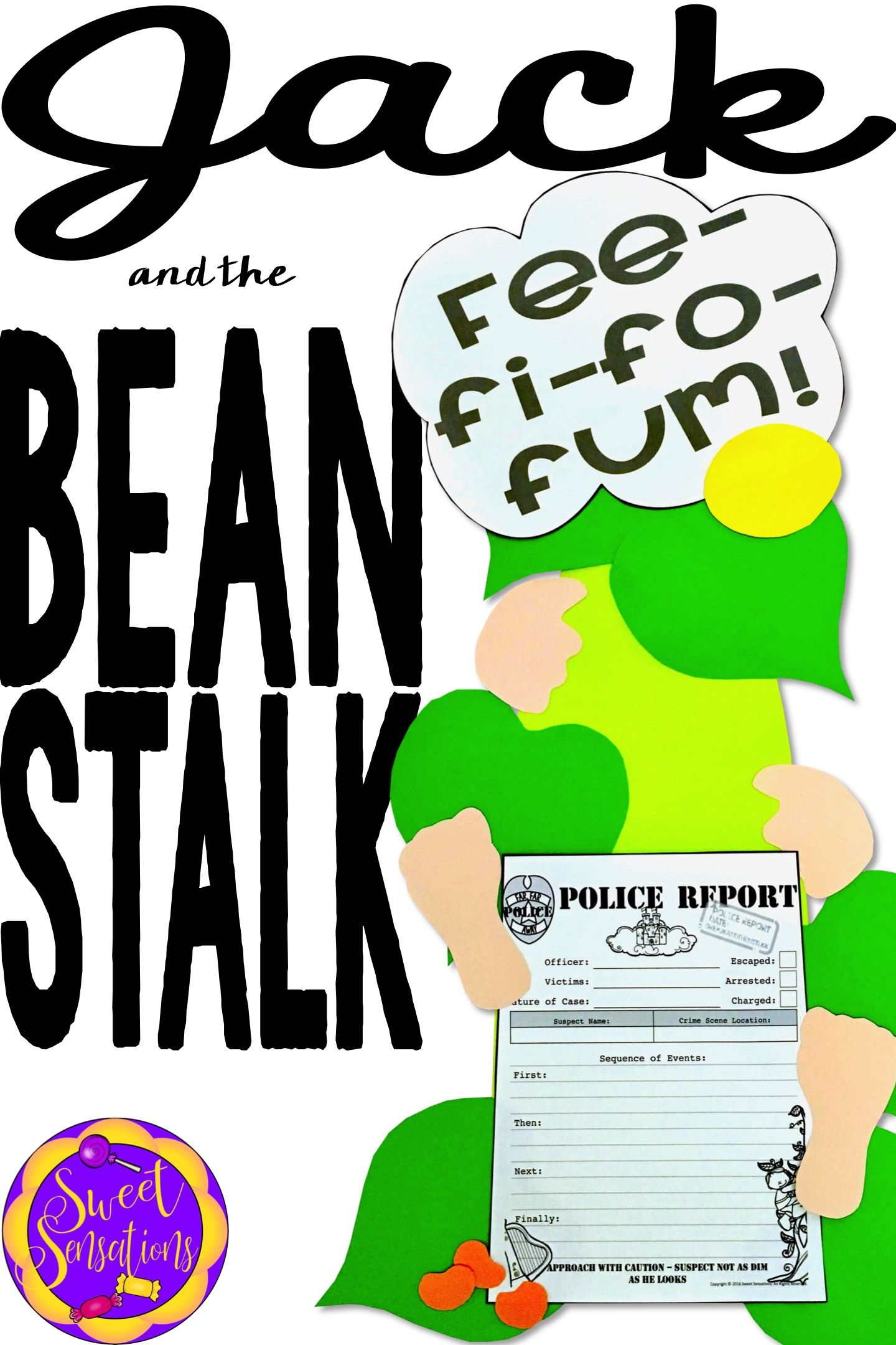 Jack And The Beanstalk Craft And Writing Activity