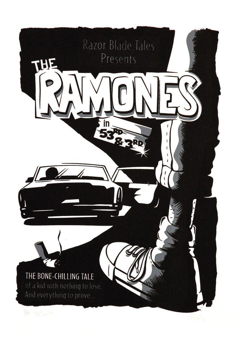 Sheena Is A Punk Rocker Ramones Limited Edition Screen Prints