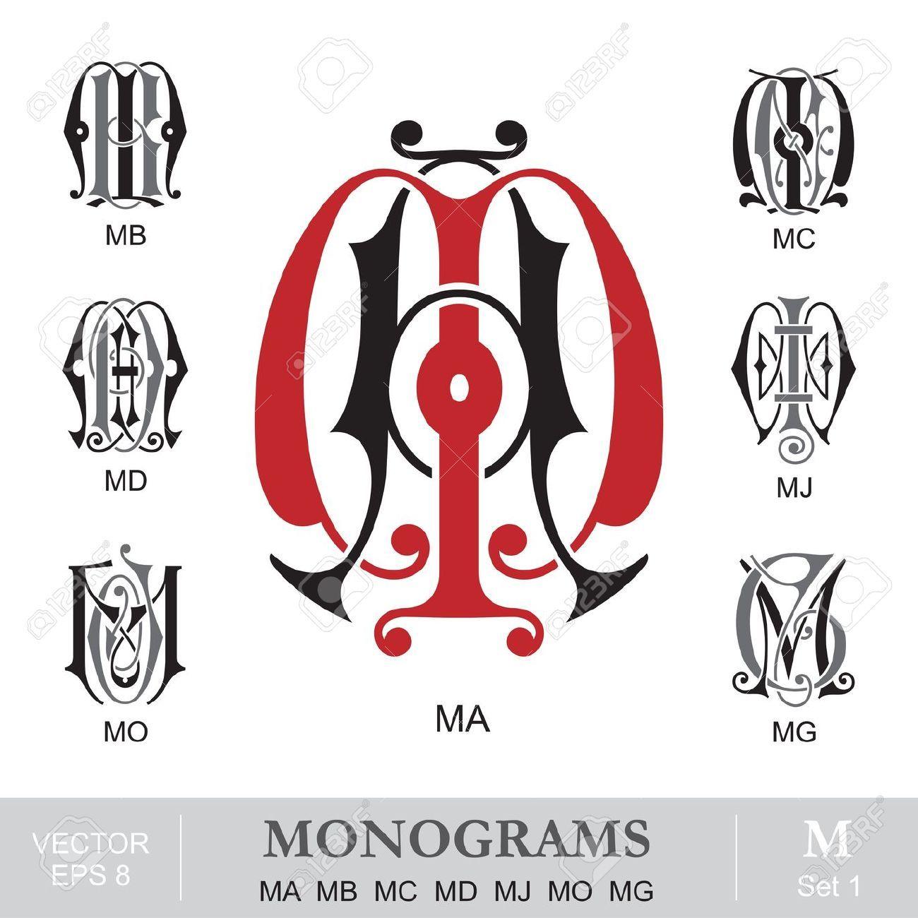 Tattoo Initials Mn: Vintage Monogram, Monogram, Monogram Tattoo