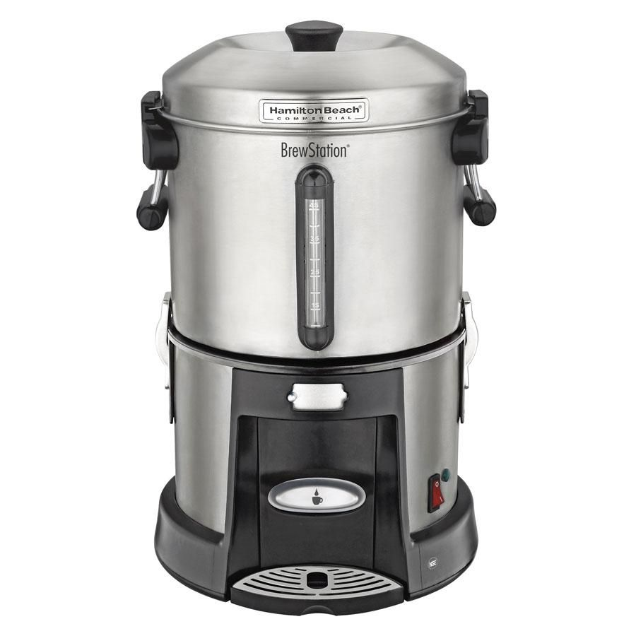 45 Cup Brewstation Coffee Urn From Hamilton Beach Commercial Coffee Urn Stainless Steel Coffee Coffee