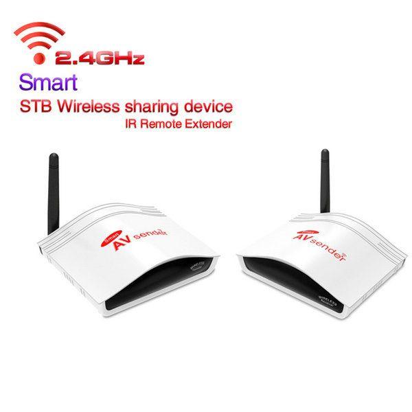 Smart 2 4G Digital STB Wireless Sharing Device IR Remote