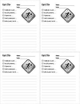 Main Idea Exit Ticket Freebie I Teach t Classroom