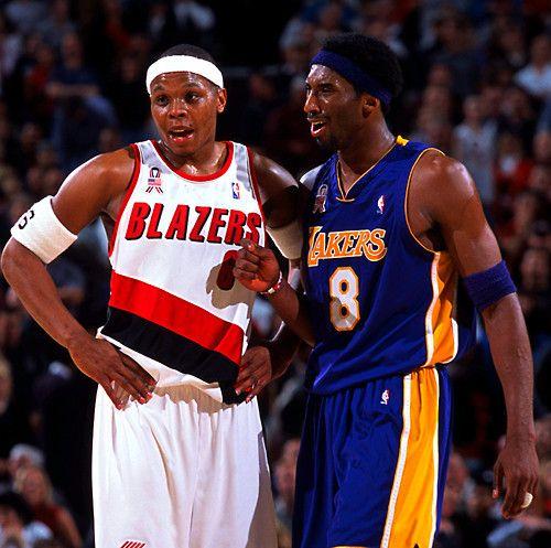 Blazers Vs Lakers: Bonzi Wells & Kobe