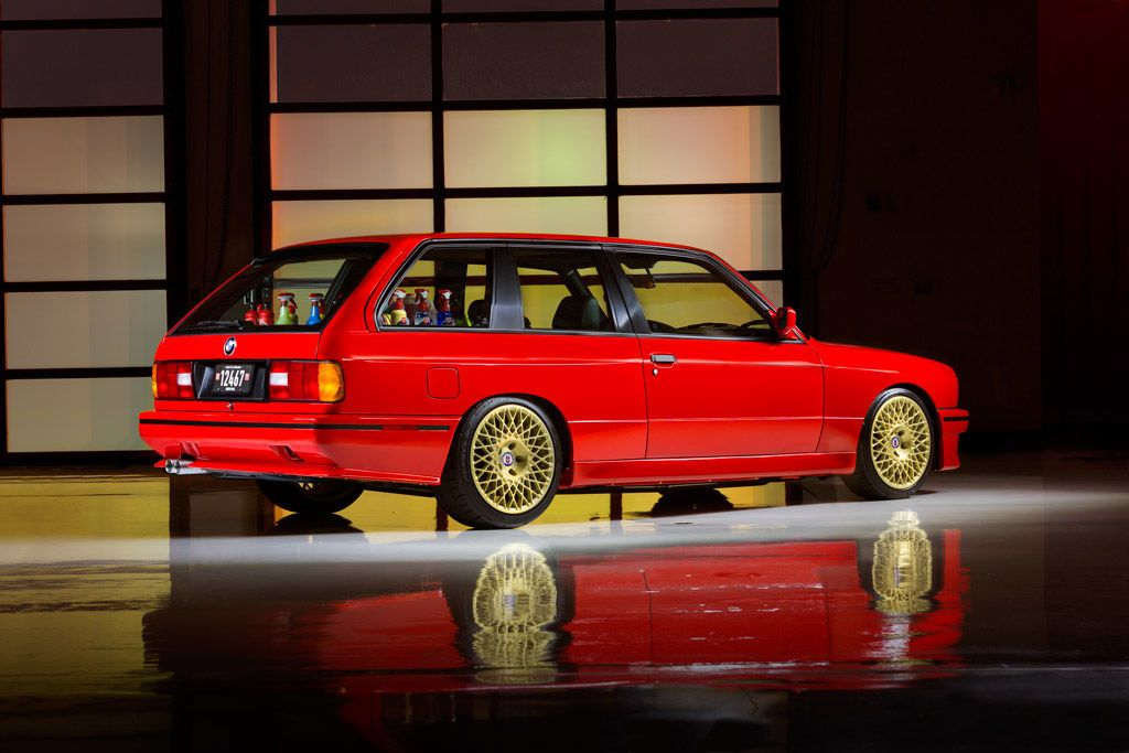 This Custom V8-Powered Two-Door E30 M3 Wagon Is Basically Perfect