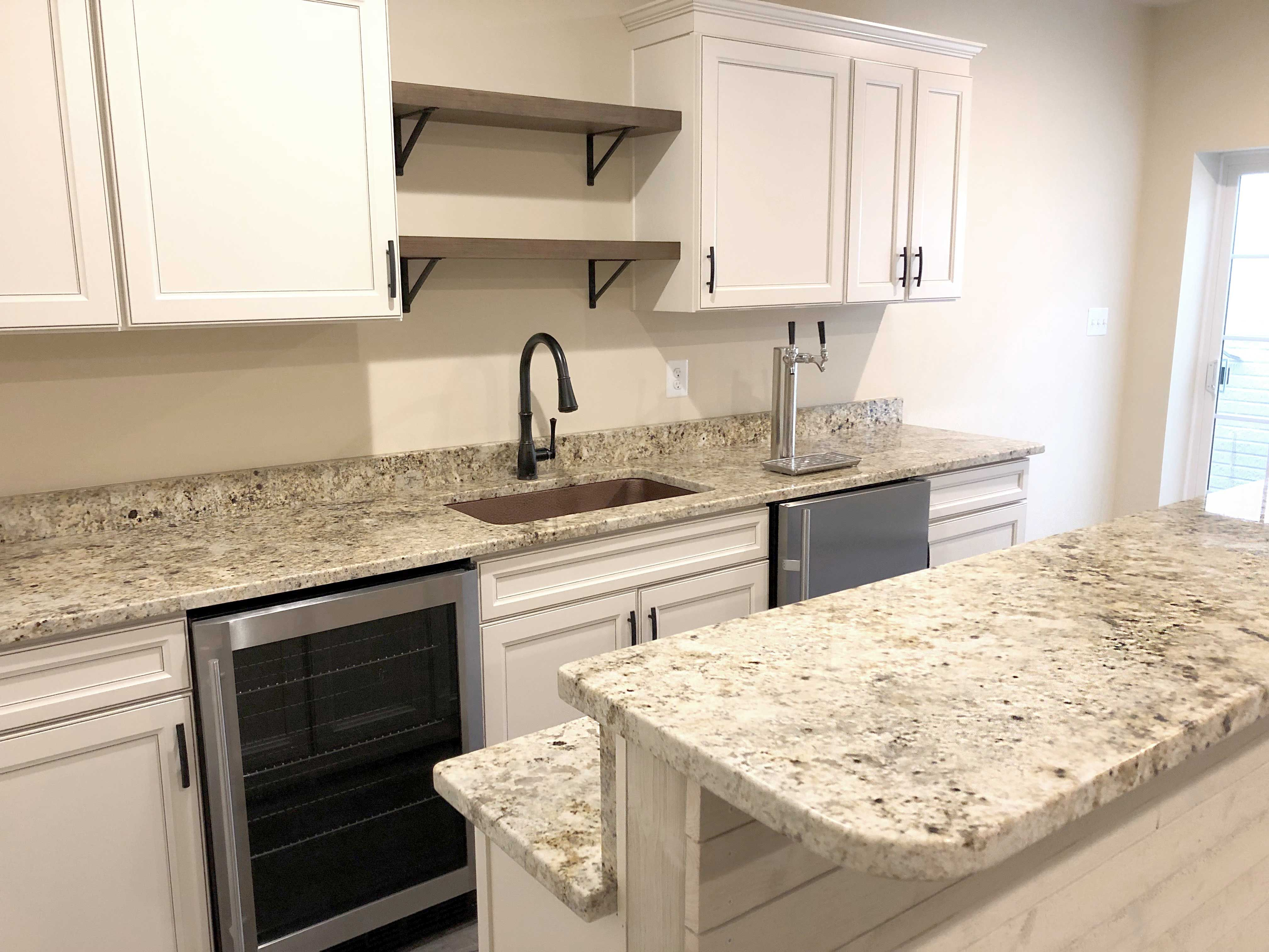 Photo Of The Day From Our Customer Stone Colonial Gold Colonialgold Granite Granite Countertops Kitchen Quartz Kitchen Countertops Granite Countertops