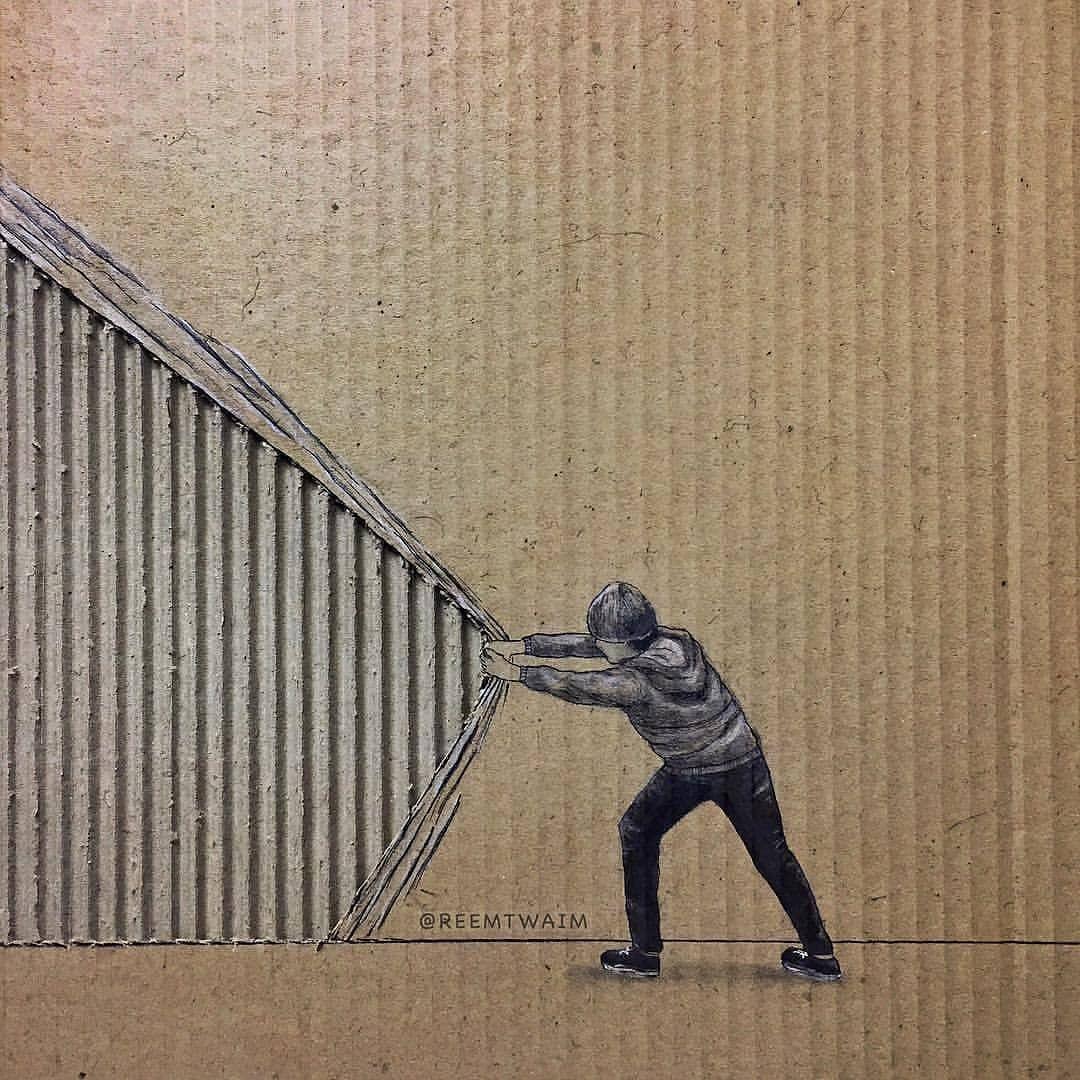 Viral Arts On Instagram Creative Comment Your Favorites Don T Forget To Follow Us Artsviral For More Gr Cardboard Art Cardboard Sculpture Paper Art