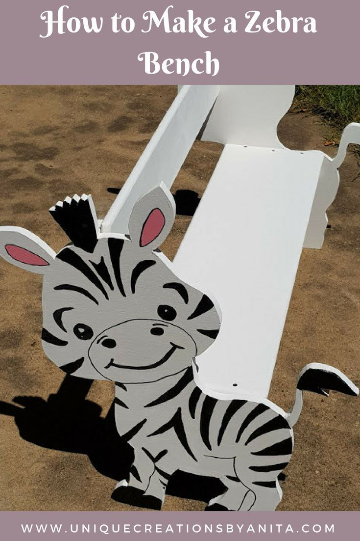 How to make a Zebra Bench