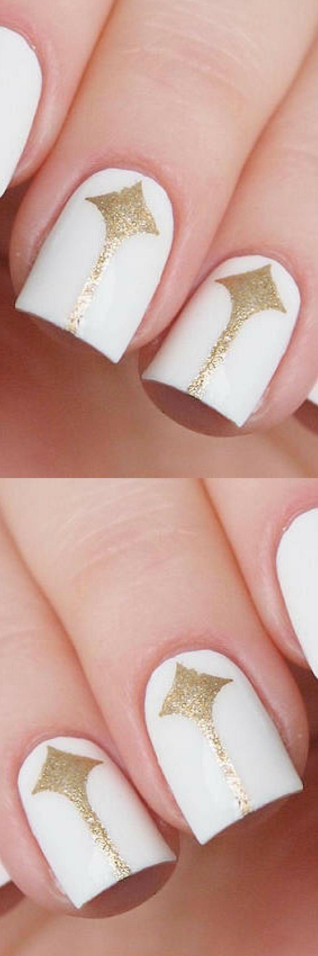 Spike elegance nail vinyls/ Nail art stenclis/ Nail art tape/ Nail ...