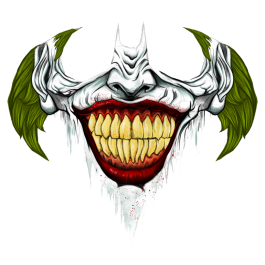 Last Laugh Teefury Joker Tattoo Design Joker Artwork Joker Art