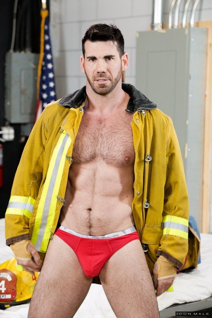porn Hairy men firefighter gay