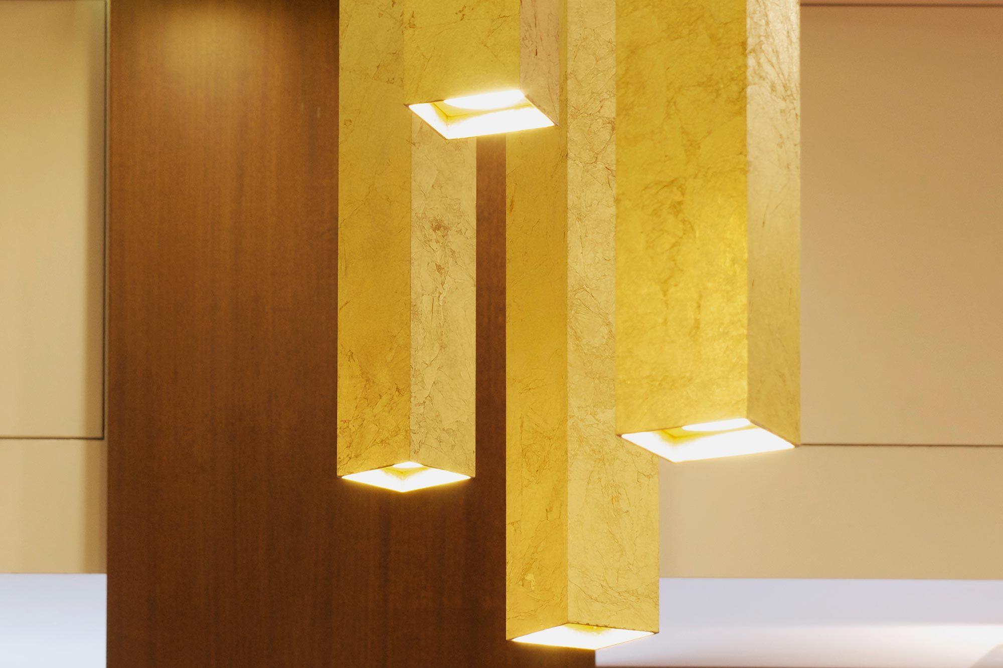 La lampada two in questo progetto esprime tutto il suo potenziale