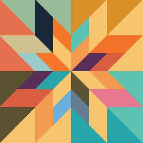 Pattern | Geometric art, Rhythm art, Barn quilt patterns