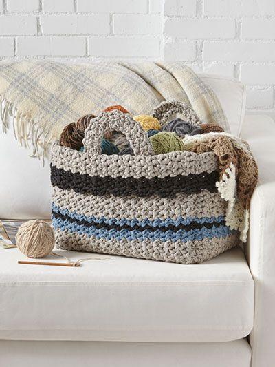 Big Hook Basket Crafts Pinterest Crochet Patterns And