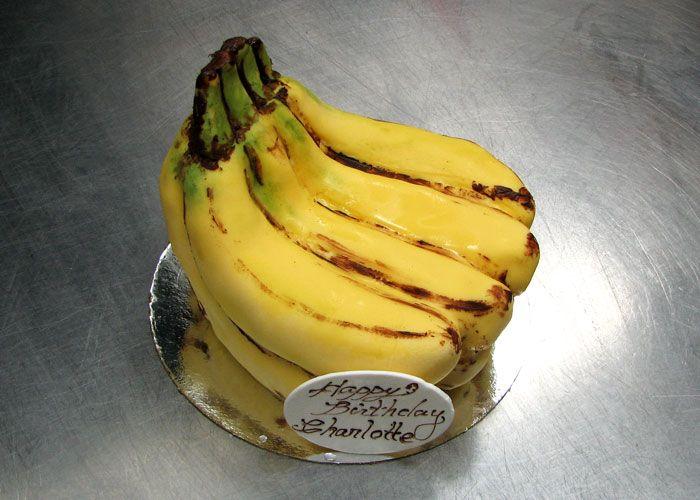 Banana shaped cake google search cakes pinterest - Banana cake decoration ...