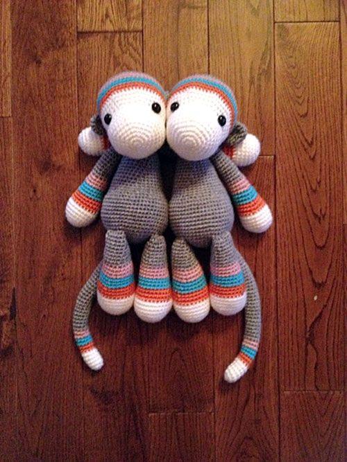 Tallou The Monkey Amigurumi Pattern