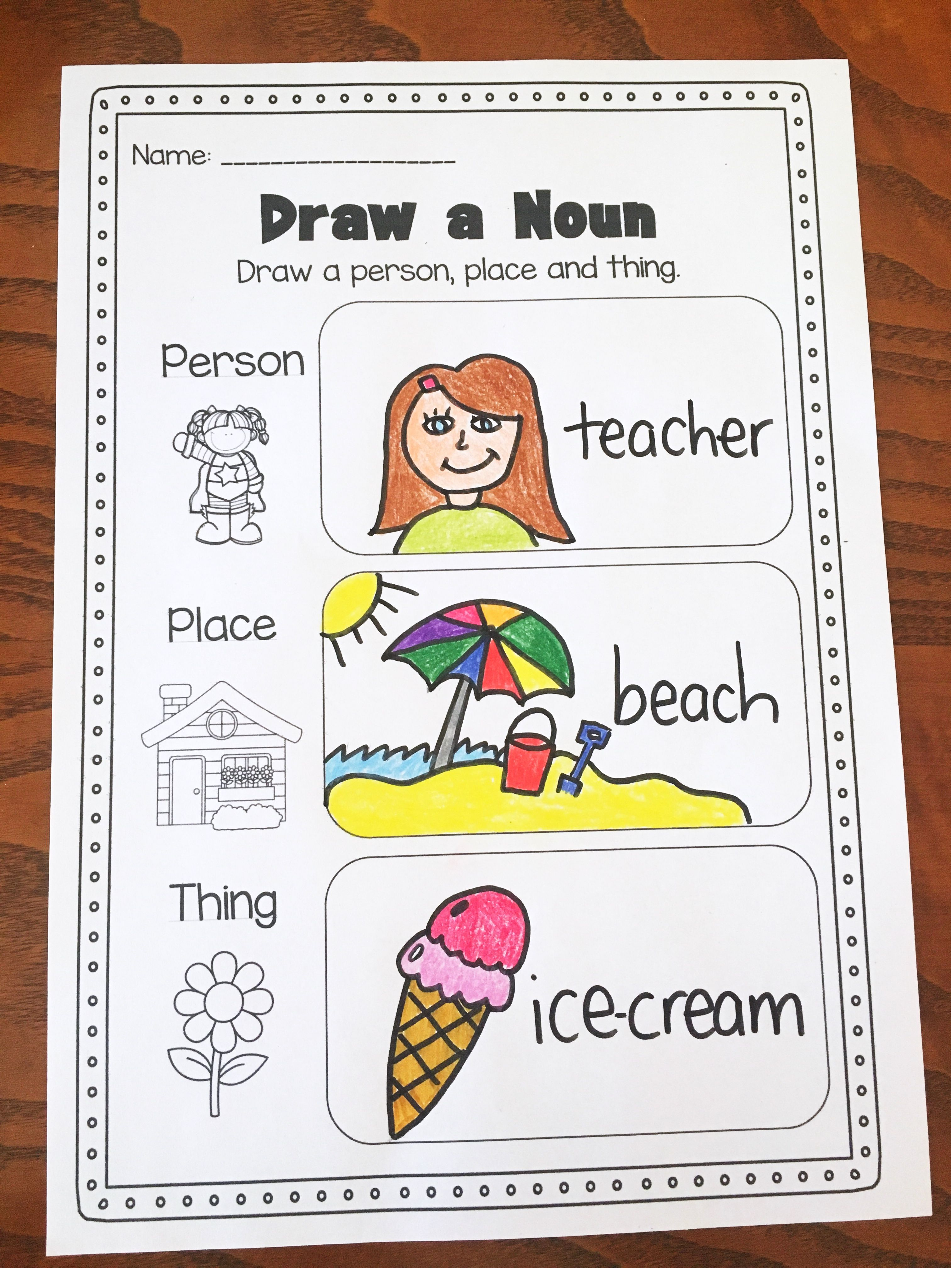 worksheets on general and abstract nouns pdf