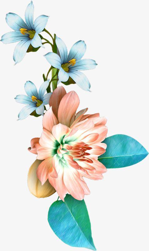 Painted Flowers Flower Painting Watercolor Flowers Tumblr Flower