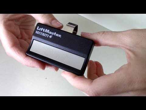 1 How To Change The Battery On Garage Door Remote Liftmaster