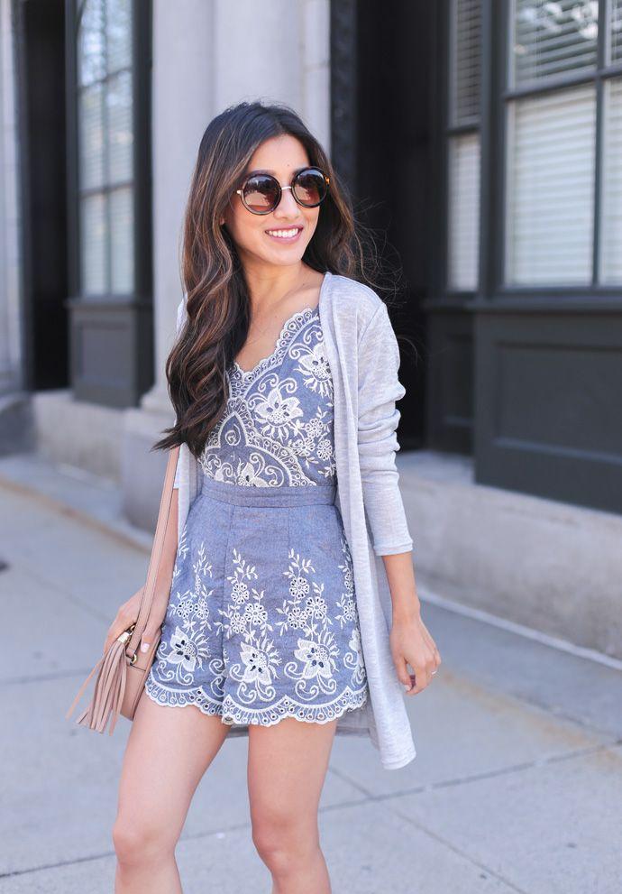 Polka Dot Romper Outfit   Fashion, Roadtrip outfits, Women